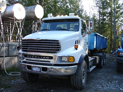 trucking, bin services, Indian Isle Construction, sunhsine coast, bc, pender harbour